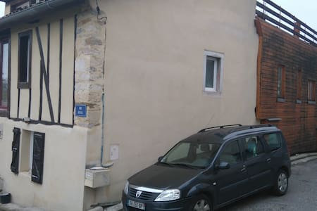 Maison de village avec vue sur les Pyrénées - Roquefort-sur-Garonne - Hus