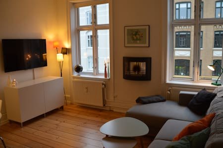Nice and spacious apartment with two bedrooms (inkl.