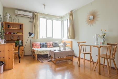五道口 林大 温馨小资一居室 可住3人 - Appartamento