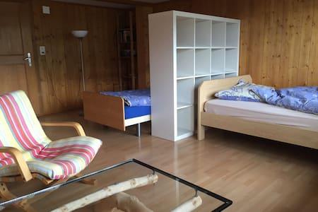 Ruhiges Zimmer, wunderschöne Lage - Appartamento