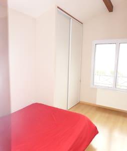 chambre double maison LYON venissie - Hus