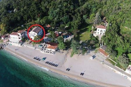 App 2 direct on the beach - Mošćenička Draga - Apartment