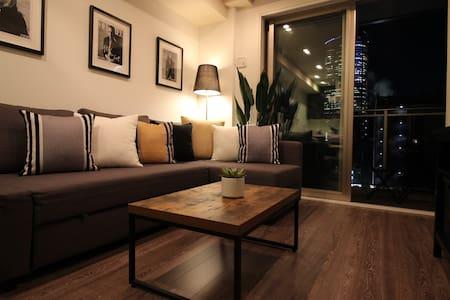 2 min Roppongi Sta.brand new TowerX - Lägenhet