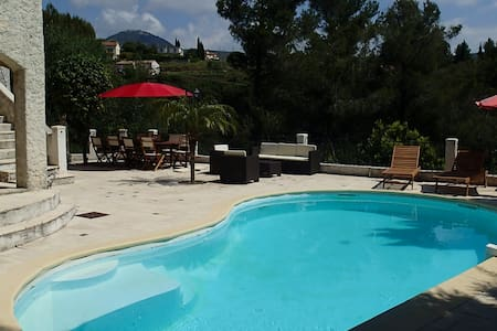Villa de luxe avec piscine à Nice pour 11 pers. - Nizza - Villa