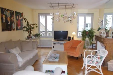 appartement centre ville  quartier historique - Dole - Apartment