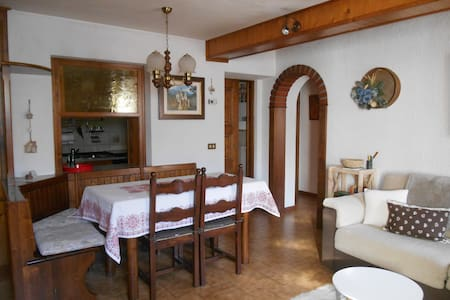 Romantic flat with a view on the mountains - Valfurva - Leilighet