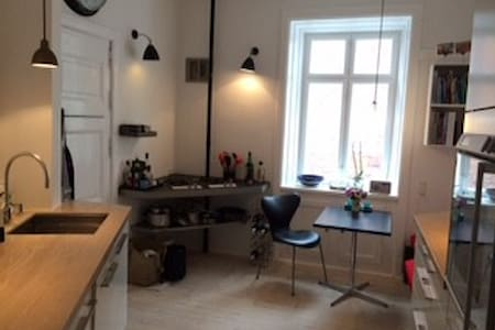 Central location by the lakes - Frederiksberg - Apartment