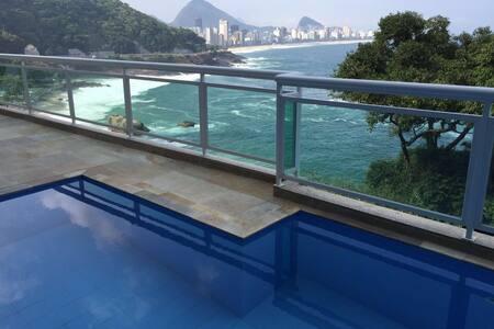 Vidigal Gem - pool and parking free - Rio de Janeiro - Apartment