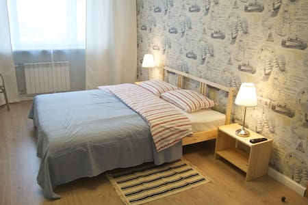 Spacious Room, Private Bathroom - Moskva - Wohnung