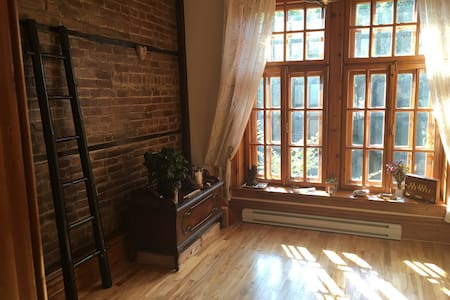 Urban Gem in the heart of Montreal - Şehir evi
