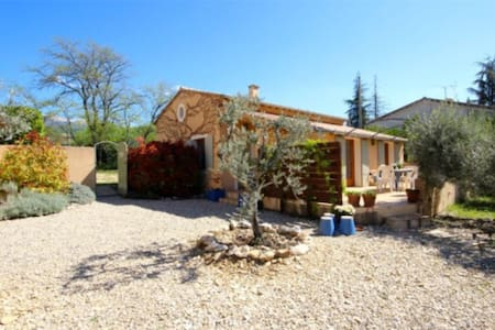 Provençal house with heated pool - Flassan - House