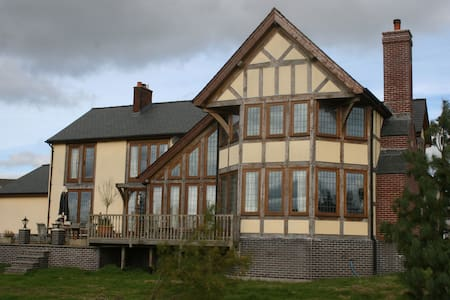 Oak Framed Country House in Beautiful Wales - Powys