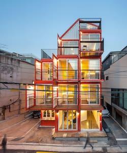[한남동,이태원] Orange Cube House [T-shape1] - Bed & Breakfast