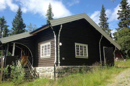 Tømmerhytte ved Valdres Alpinsenter - Sommerhus/hytte