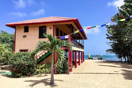 Caribbean SeaFront Compass Rose Guest House~Belize - Hopkins