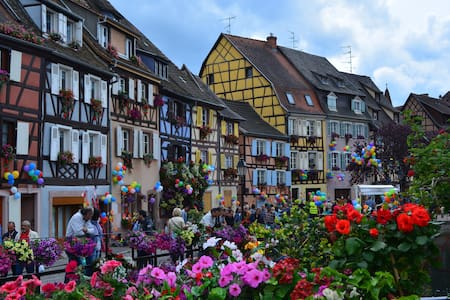 Les bateliers Petite venise Colmar - Colmar - Lejlighedskompleks
