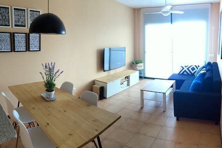 Apartment at the beach Delta Ebro - Pis