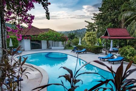 Swim-out Cottage on dream pool - Ko Samui