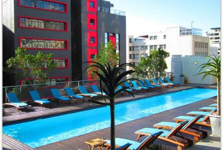 Modern apartment in Cape Town CBD - Lejlighed