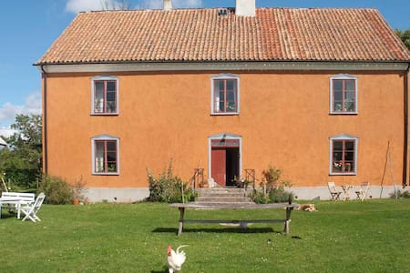 Boende på gotlandsgård - Casa