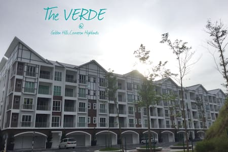 The VERDE Holiday Home, Golden Hills, CHighlands - Tanah Rata - Wohnung