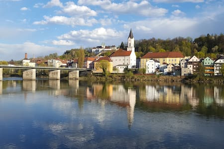 Cosy flat in beautiful Passau♥ - Daire