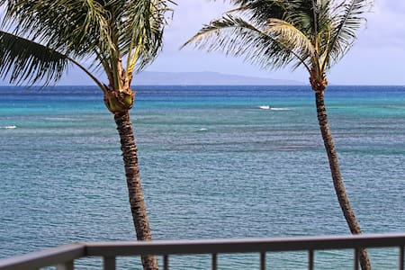 Royal Kahana 410; 2 BR, Oceanfront, No Resort Fee - Apartament