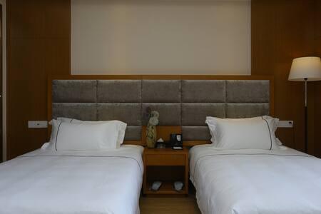 拜登观邸度假公寓(都江堰外滩新天地)园景双床房 - Chengdu - Pis