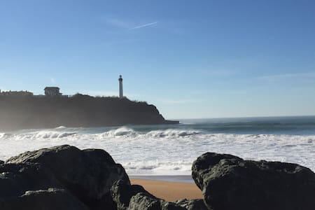 150m plage Anglet charmant T2