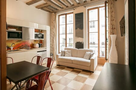 Paris Louvre exotic apartment