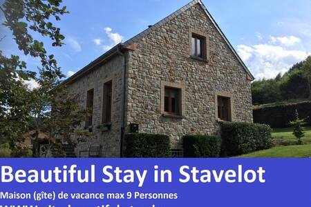 Maison de vacances Beautiful Stay in Stavelot - Stavelot