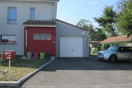 a small and new  house in quiet countryside Bresse - Attignat