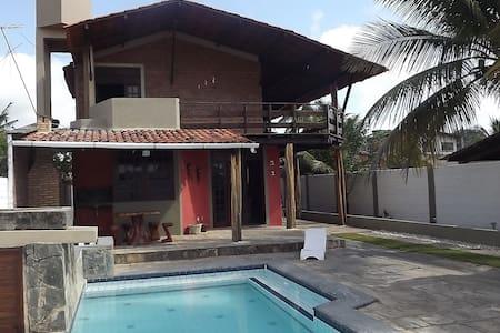 Casa Rústica 150 metros da praia - Paripueira