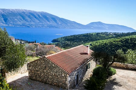 Traditional Villa in Matsoukata with amazing views - Fiskardo - Villa