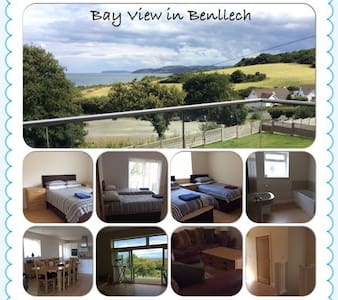 Beautiful House overlooking Benllech Bay - Benllech
