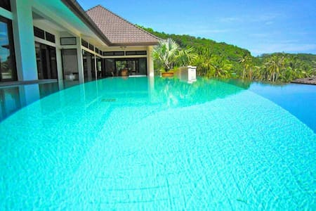 Beach Front View Tai Pan Villa 4Bedroom ,CapePanwa - Phuket - Villa