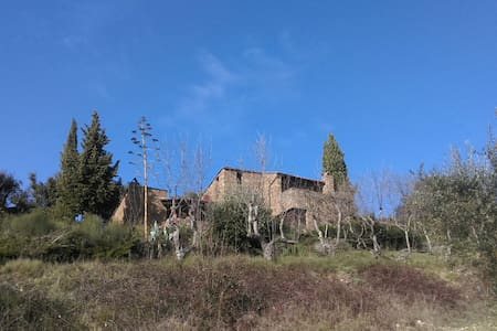Fascinating rustical stone house - Castellina in Chianti - House