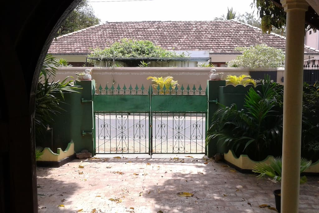 the front gate