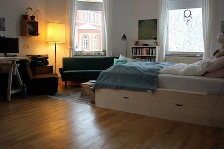 Helles Altbauzimmer in Oststadt - Apartemen