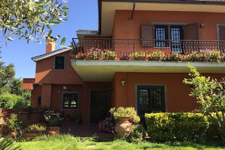 Camera in villa con piscina - Bed & Breakfast