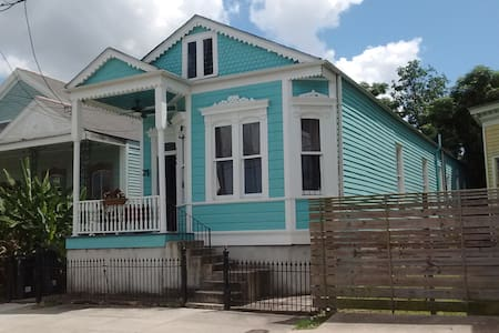Historic Dumaine home in Treme/Mid-City - New Orleans - House