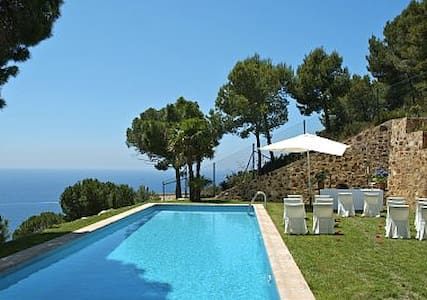 Dream views, villa for 8, pool, beach & privacy - Sant Feliu de Guíxols - Villa