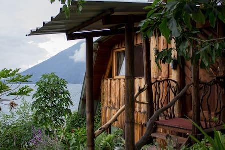 Eco Cottage on Lake Atitlan - Srub