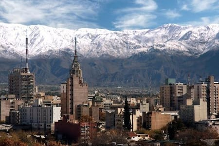 Apartment with view to the city and mountains. - Mendoza