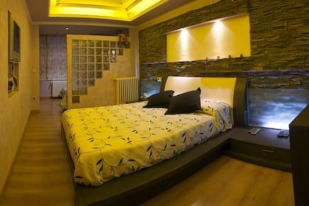 Apartamento de 130 m con jacuzzy - Zaragoza - Apartemen