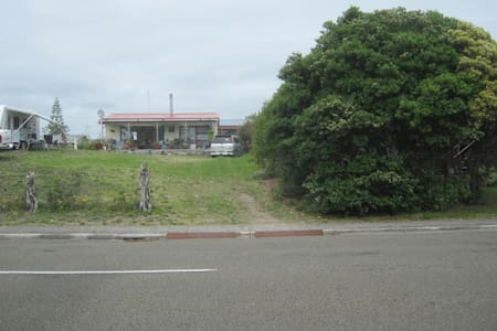 seafront - voted Best Beach in NZ - Ohope