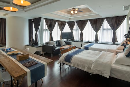 太古里-(暇空间2)成都记忆空间服务公寓-豪华套房(宜住4人) - Chengdu Shi - Apartment