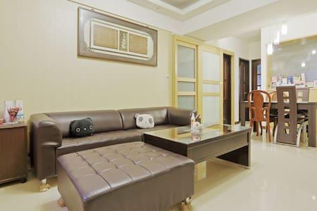 溫馨舒服,位置方便 Neat and comfortable, good location - Taoyuan  - Wohnung