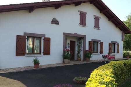 Maison Bakea - Blue room - Saint-Jean-Pied-de-Port - Bed & Breakfast