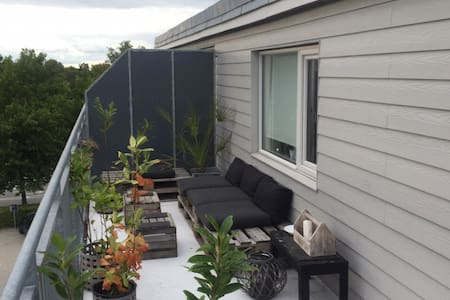 Privat rooftop apartment in City! - Apartment